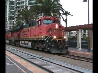 BNSF DAYGO Through San Diego